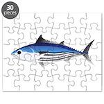 Skipjack Tuna fish Puzzle