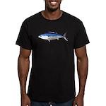 Skipjack Tuna fish Men's Fitted T-Shirt (dark)