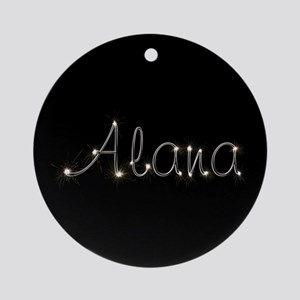 Alana Spark Ornament (Round)