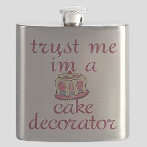 Trust Me I'm a Cake Decorator Flask