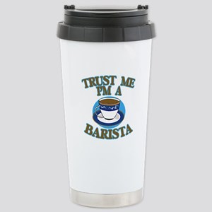 Trust Me I'm a Barista Stainless Steel Travel Mug