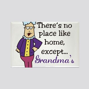 No Place Like Home Rectangle Magnet