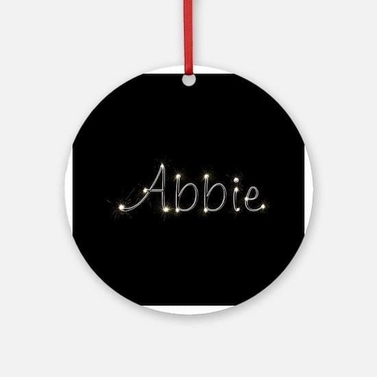 Abbie Spark Ornament (Round)