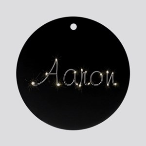 Aaron Spark Ornament (Round)