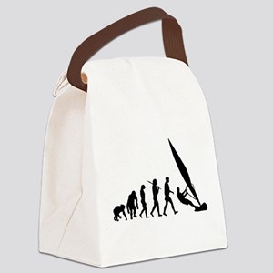 Windsurfer Evolution Canvas Lunch Bag