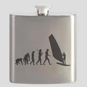 Windsurfing Evolution Flask