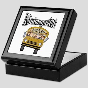 School Bus Kindergarten Keepsake Box
