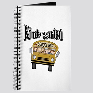 School Bus Kindergarten Journal