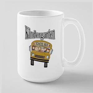 School Bus Kindergarten Large Mug