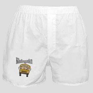 School Bus Kindergarten Boxer Shorts