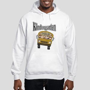 School Bus Kindergarten Hooded Sweatshirt