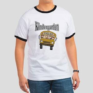 School Bus Kindergarten Ringer T
