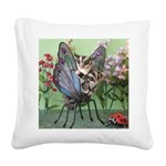 Butterfly #2 Square Canvas Pillow