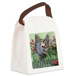 Butterfly #2 Canvas Lunch Bag