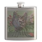 Butterfly #2 Flask