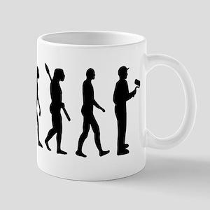 Painter evolution Mug