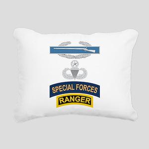 CIB Airborne Master SF Ranger Rectangular Canvas P