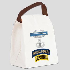 CIB Airborne Master SF Ranger Canvas Lunch Bag