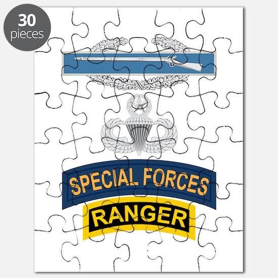 CIB Airborne Master SF Ranger Puzzle