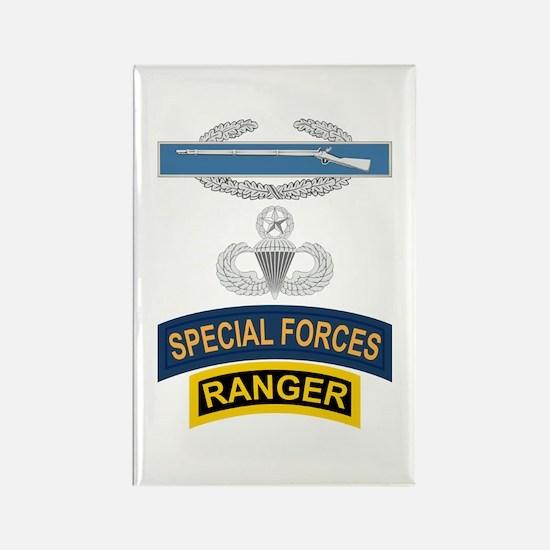 CIB Airborne Master SF Ranger Rectangle Magnet