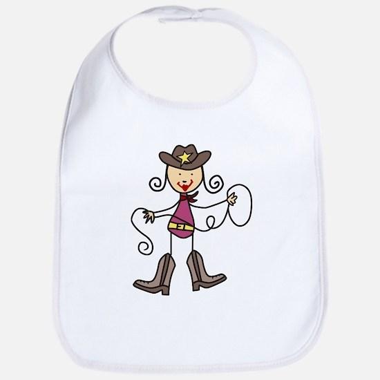 Cowgirl Bib
