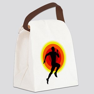 Runner Canvas Lunch Bag