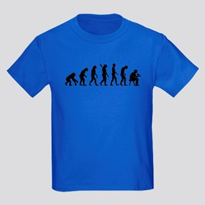 Tattoo artist evolution Kids Dark T-Shirt