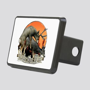 mule deer rut Rectangular Hitch Cover