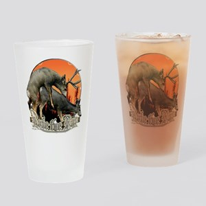 Rule the rut Pint Glass