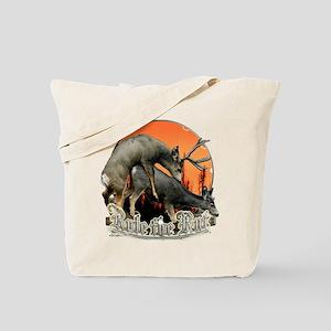 Rule the rut Tote Bag