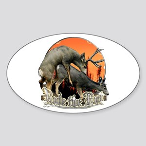 Rule the rut Sticker (Oval)