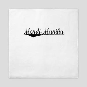 Mendi-Munihu, Aged, Queen Duvet