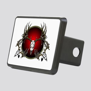 mule deer skulls Rectangular Hitch Cover