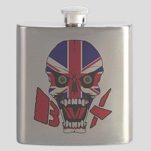 Union jack BMX Flask