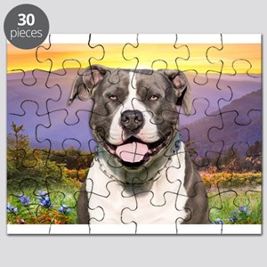 Pit Bull Meadow Puzzle
