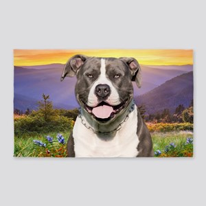 Pit Bull Meadow 3'x5' Area Rug