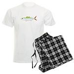 Scad Jack (Green Jack) fish Men's Light Pajamas