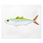 Scad Jack (Green Jack) fish King Duvet