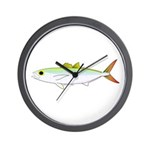 Scad Jack (Green Jack) fish Wall Clock