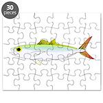 Scad Jack (Green Jack) fish Puzzle