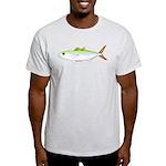 Scad Jack (Green Jack) fish Light T-Shirt