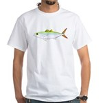 Scad Jack (Green Jack) fish White T-Shirt