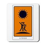 Tarot Sun Mousepad