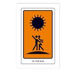 Tarot Sun Postcards (Package of 8)