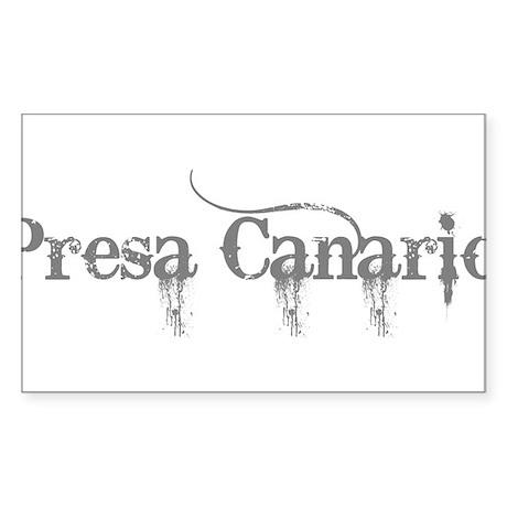 Presa Canario Sticker (Rectangle)