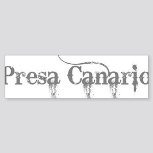 Presa Canario Sticker (Bumper)