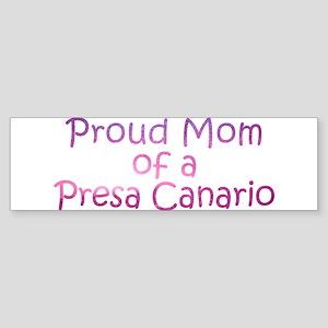 Proud Mom of a Presa Canario Sticker (Bumper)