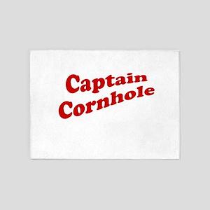 Captain Cornhole 5'x7'Area Rug
