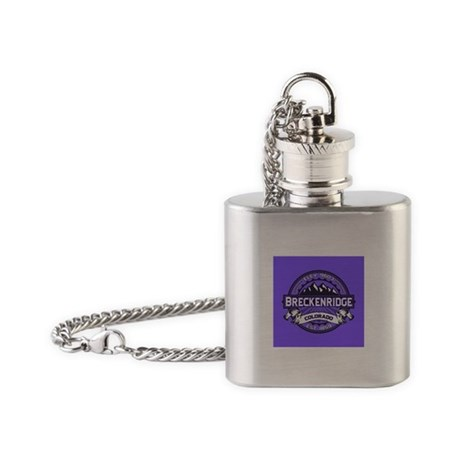 Breckenridge Purple Flask Necklace
