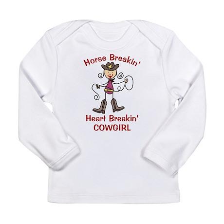 Horse Breakin' Long Sleeve Infant T-Shirt